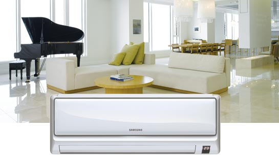 Samsung split unit airco wandmodel Crystal collectie