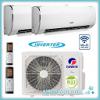 GREE GWHD18 Duo split inverter + 2 x 2.5 kW Fairy