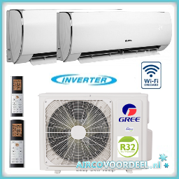 GREE GWHD18 Duo split inverter + 2 x 2.5 kW Fairy