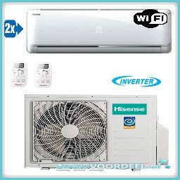 Hisense Iris Duo inverter 2 x 2.5 kW