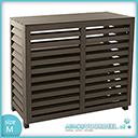 Metosi © Airco Cover Compuesto medium Walnut