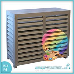 Metosi © Airco Cover Compuesto Medium Overschilderbaar