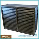 Metosi © Airco Cover Madera Charcoal