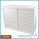 Metosi © Airco Cover Madera wit
