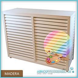 Metosi © Airco Cover Madera Overschilderbaar