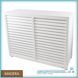 Metosi © Airco Cover Madera wit