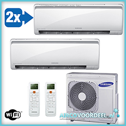 Samsung Maldives Duo split unit airco