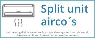 Split unit systemen